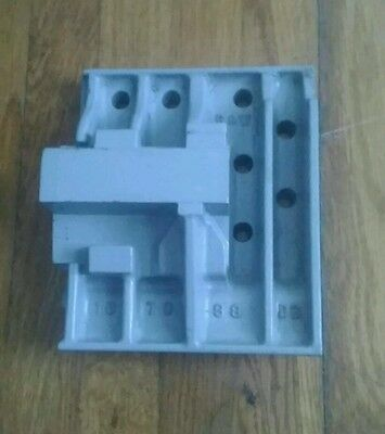 Antique Machine Age Industrial Wood Foundry Mold Pattern Steampunk Gray