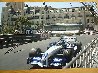 Formula 1 Nick Heidfeld hand signed photo 12x8 COA