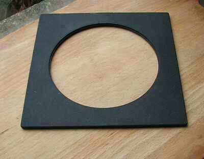 genuine Sinar F & P  lens board panel with large 102.6mm hole