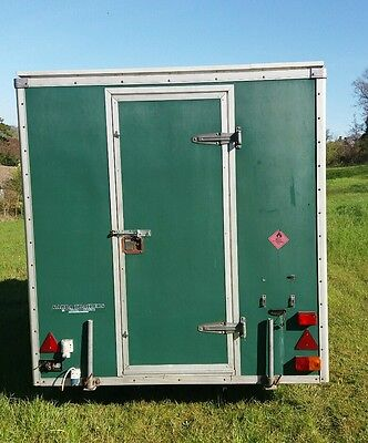 """BOX/CATERING TRAILER 6'6"""" X 12' x 7'"""
