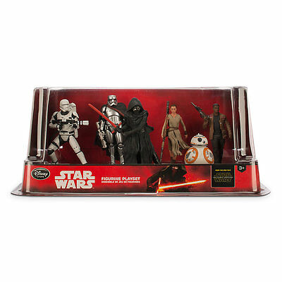 Star Wars: The Force Awakens Deluxe Figurine Playset - Great Stocking Filler!