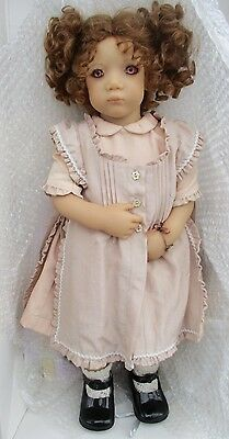 """Annette  Himstedt Irmi 23"""" mint!  w box/shipper/phamphlets/papers-Beautiful!"""