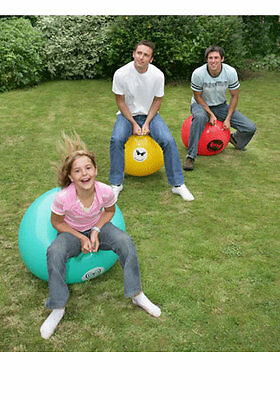 3 Giant Adult Space Hoppers Garden Game Party Free Pump