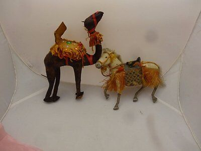 A Horse And A Camel To Go With The Ethnic Dolls, Detailed, Good