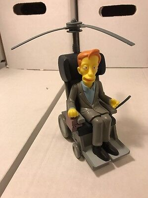 Playmates The Simpsons WOS Dr. Stephen Hawking Loose
