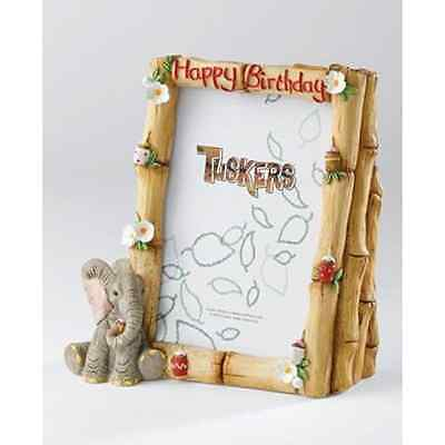 Tuskers - Happy Birthday Photo Frame Money Bank