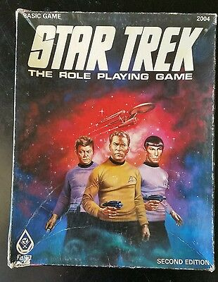 Star Trek: The Role Playing Game - Basic Game (Second Edition)