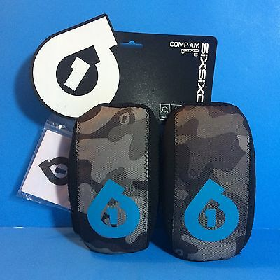 SIXSIXONE COMP AM ELBOW PAD PROTECTIVE GEAR CAMO MOUNTAIN DOWNHILL BIKE 661 Sz S