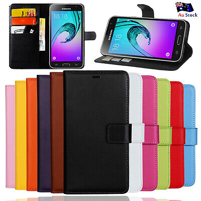Wallet Leather Case Cover For Samsung Galaxy J1 mini J1 6 J3 2016 J5 J7 Pro 2017