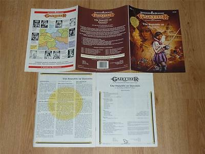 The Republic of Darokin GAZ11 - Gazetteer Dungeons & Dragons D&D - TSR 9250