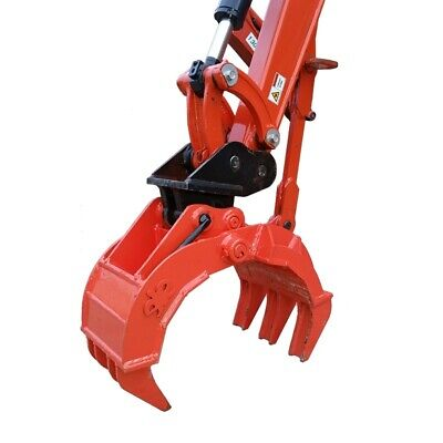 Mechanical Grab, Rock / Log Grab, Grapple - To Suit Excavator - 1.0 - 9.9 Tonne