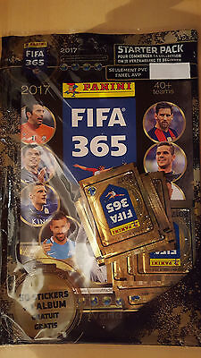 Panini FIFA365 2017 - Starter Pack - Belgian Edition - album with 50 stickers
