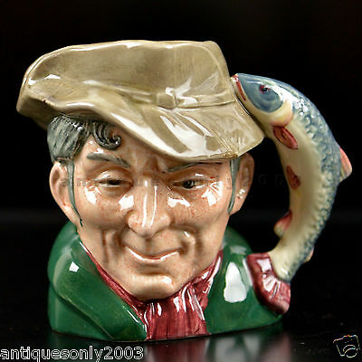 Royal Doulton Toby Jug THE POUCHER English Small Character Toby Jug D6464 1954