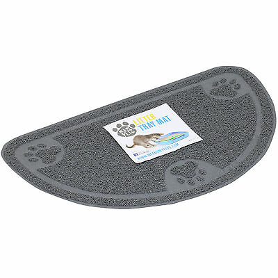 Me & My Curved Cat/kitten Litter Tray/pan Floor Mat Pet Tidy/clean Big Placemat