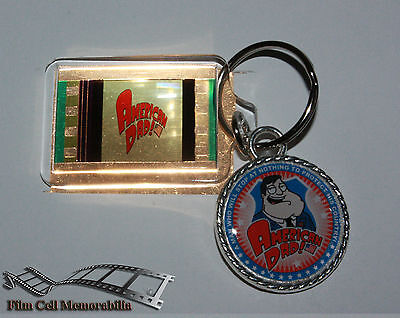 American Dad - 35mm Film Cell Movie KeyRing and Pendant Keyfob Gift