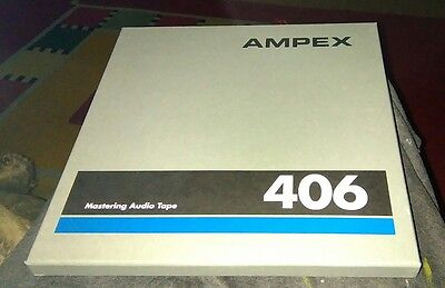 "ampex 406 reel tape,10.5""metal x5"