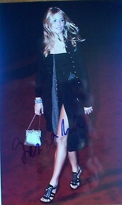 SIENNA MILLER: Actress. Genuine signed 8 X10 photo. Layer Cake.