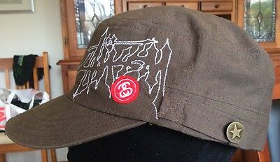 Stussy Converse Cap Military Style