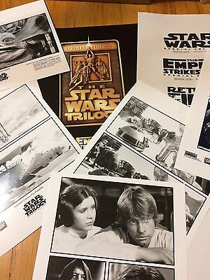 Press Kit Star Wars Triloge with 6 glossy pictures