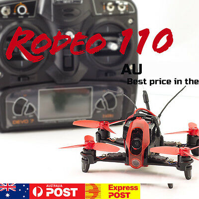 Walkera Rodeo 110 brushless FPV racing quadcopter camera drone