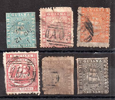 British Guiana Victorian Collection (mixed condition) WS2972