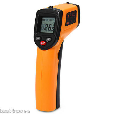 GM320 Non-contact LCD IR Laser Infrared Gun Thermometer Temperature Tester DE