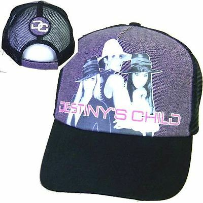"Destiny's Child ""dc Patch"" Beyonce Pic Image Trucker Hat Cap New Sale Official"