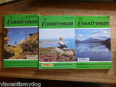 The Countryman magazine (3 issues from 1990 - 1992)