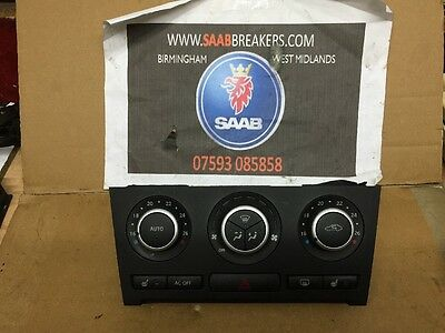 Saab 93 9-3 Heater Control Panel Heated Seat Type A/c 08-12 Facelift 12772892