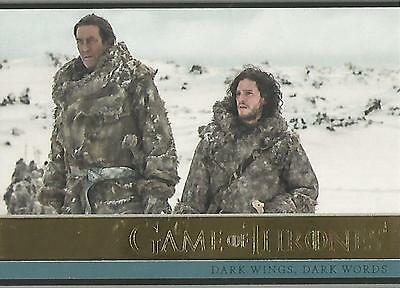 Game of Thrones Season 3 - No. 06 GOLD Parallel Base Card #133/150