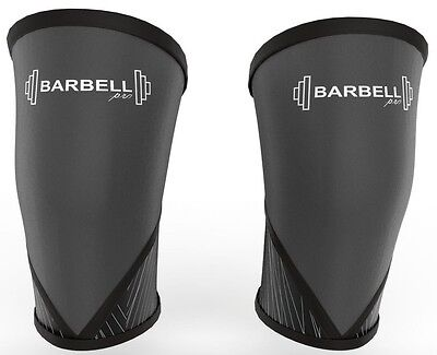 **NEW** Knee Sleeve 7MM  Support for Weightlifting Powerlifting Crossfit (Pair)