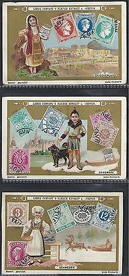 Liebig-*s0628*-Full Set Of 6 Cards- German - Postage Stamps Iii