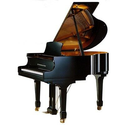 Steinmayer Black High Gloss Baby Grand. Stunning!