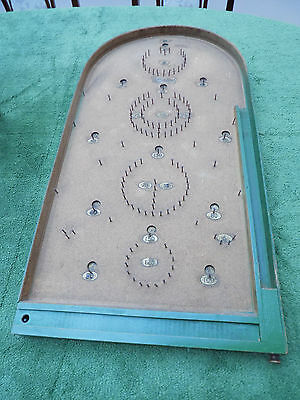 Vintage Bagatelle board/game c/w balls (south Cambs)