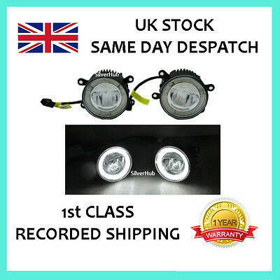 For Ford Transit Connect Tourneo Custom Led Drl Daytime Running Lights Fog Lamp
