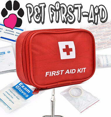 "► ""Pet First-Aid Package"" Dogs Cats First, 7 Medical   (Kit Puppy Animal Travel)"