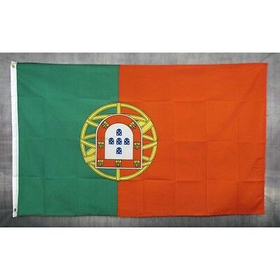 Portugal Flag 3ft x 5ft Country Banner 90cm x 150cm