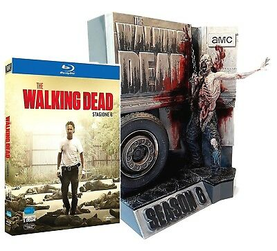 The Walking Dead - Serie 6 (5 Blu-Ray+Statua) Edizione Limitata Lingua Italiana