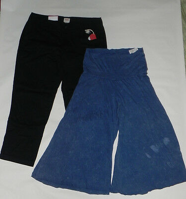 women's LOT 2pcs NWT cotton 3/4 Gaucho pants M  urban outfitters Mossio M 8 9
