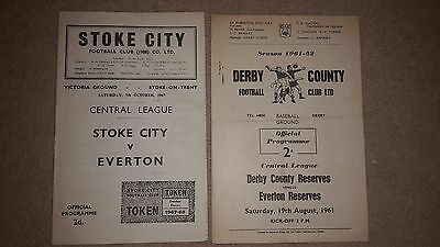Everton Away Reserves from 1960s