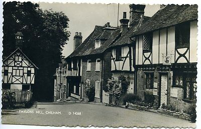 CHILHAM, near Canterbury, Kent, Real Photo, TAYLOR'S HILL Shoesmith & Etheridge