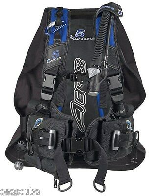 New in the bag AERIS 5 OCEANS bcd, 2XLarge