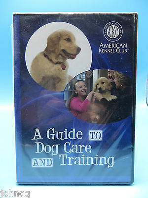 A Guide to Dog Care And Training DVD - American Kennel Club - NEW / SEALED