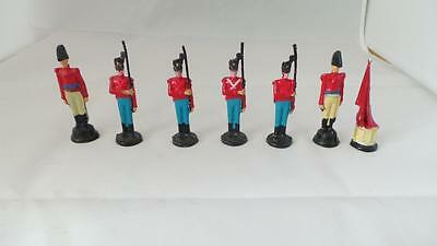 A56: Collection of White Metal French Soldiers