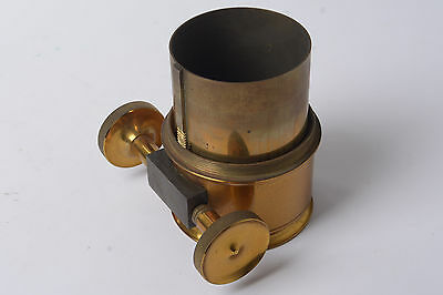 Brass part of possible telescope with Rack movement that does not work