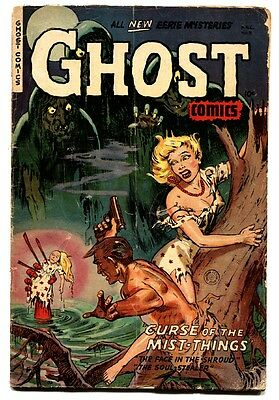 Ghost #8-Fiction House Horror-1953 Voodoo Doll Cover
