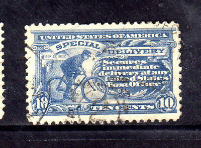 #E6   10 CENT SPECIAL DELIVERY        FANCY CANCEL   USED     c