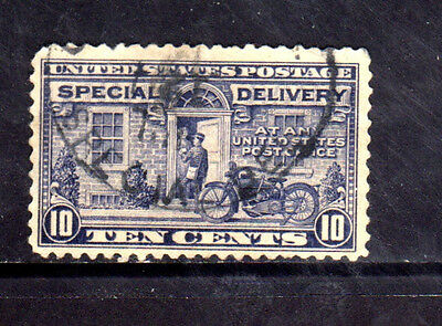 #E12   10 CENT SPECIAL DELIVERY        FANCY CANCEL   USED     b