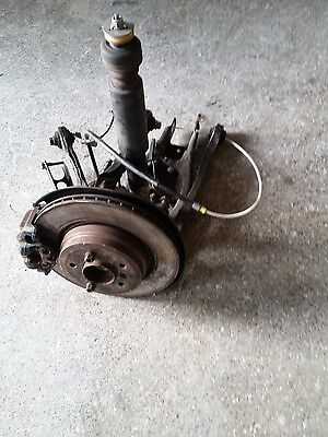 BMW 3 SERIES E92 E93- 335i COMPLETE SUSPENSION LEG REAR LEFT HUB SHOCK ARMS