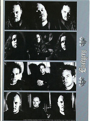 EVERGREY  band Promo Press Photo Hall of Sermon  15x21cm  Promotional Picture